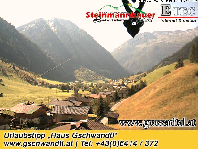 WEBkamera Grossarl - pohled na lyžakou oblast