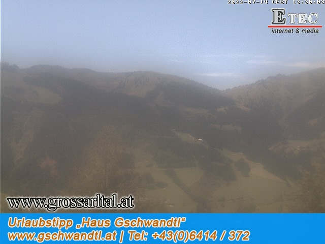 Webcam Palfenhof Grossarl