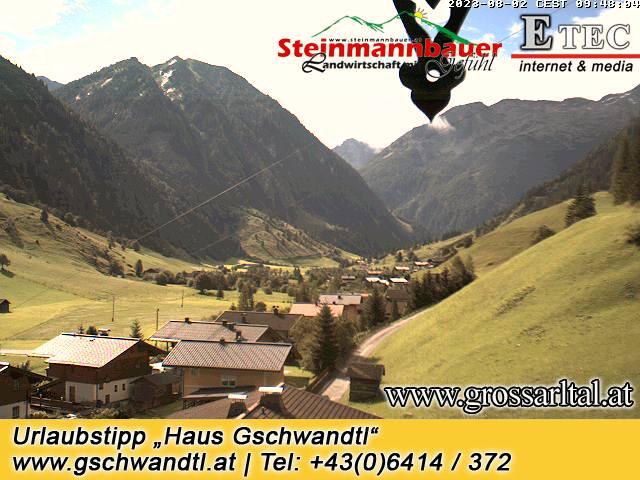 Webcam Hüttschlag Steinmannbauer Großarltal