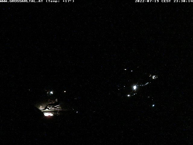 Webcam Grossarltal Mitterling - Ortsteil Bach