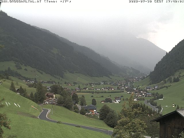 Webcam Grossarltal Mitterling - Ortsteil Bach